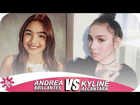★Andrea Brillantes VS Kyline Alcantara l Musically Battle l