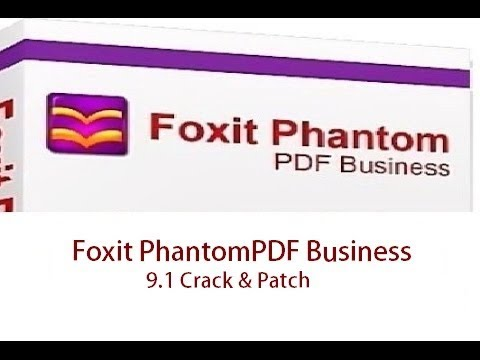Foxit Phantompdf Business 9.0.1.1049 Full Crack
