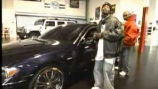 50 cent's garage G unit mtv cribs