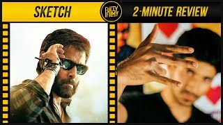 Video Sketch 2-Minute Review | Chiyaan Vikram | Tamannaah | Fully Filmy MP3, 3GP, MP4, WEBM, AVI, FLV April 2018