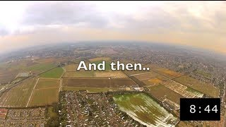 Epic Fail | RC Helicopter (Quadcopter) Flies Away - GPS Rescues The Day!