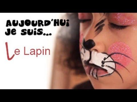 Le Lapin - Tutoriel Maquillage enfant facile