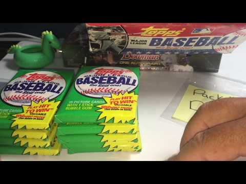 1981 TOPPS WAX BOX (BBCE) BREAK!