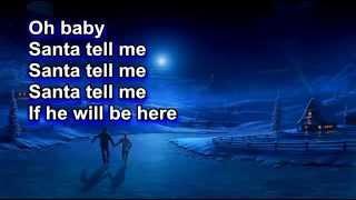 Ariana Grande - Santa Tell Me (Lyrics) (Letra)