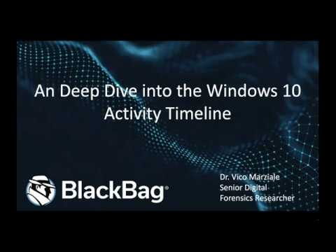Windows 10 Activity Timeline: An Investigator's Gold Mine