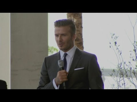 David Beckham Press Conference: Football star buys MLS franc