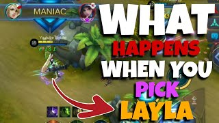Video What Happens When You Pick Layla on Ranked? | Perfect Layla Gameplay by Batute MP3, 3GP, MP4, WEBM, AVI, FLV Maret 2019