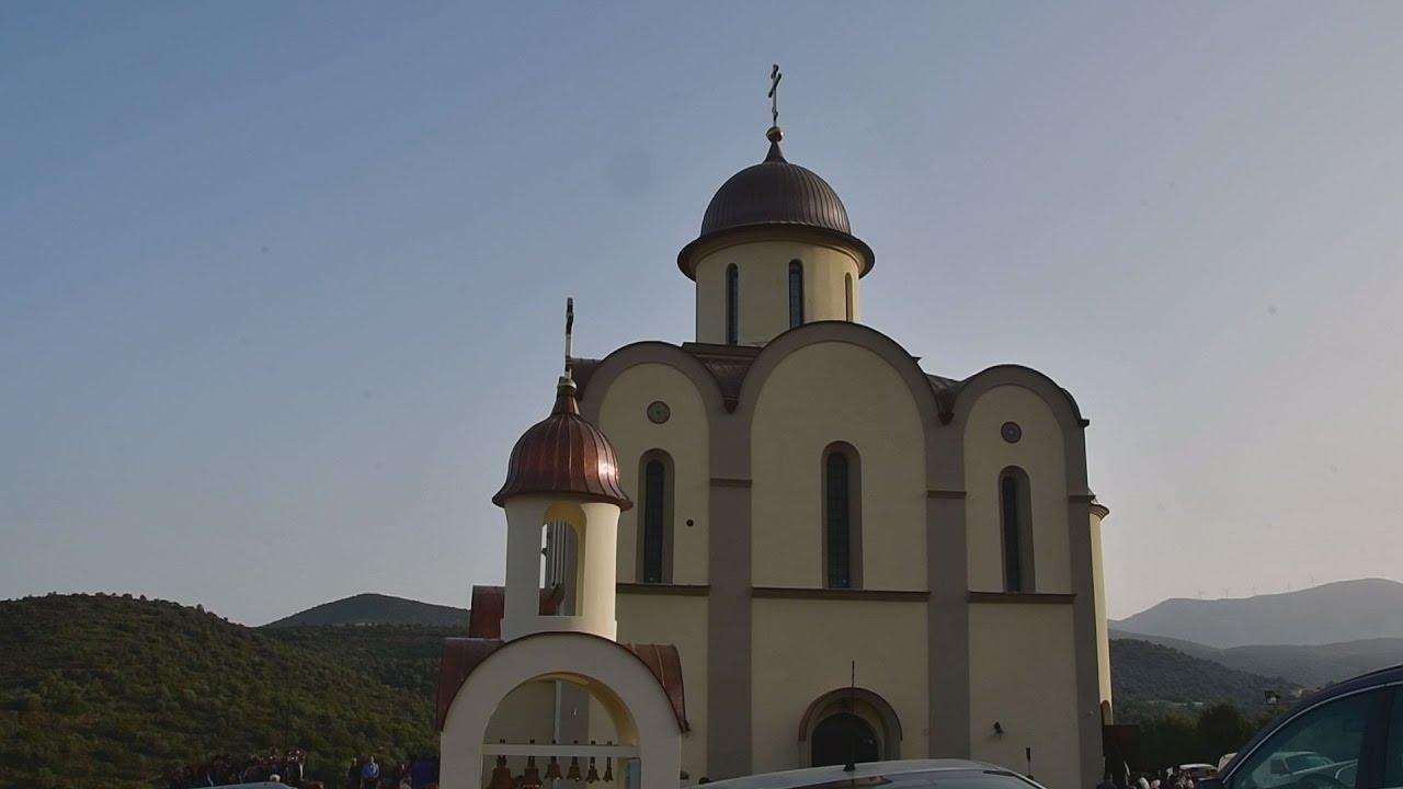 Θυρανοίξια  του Αγίου Λουκά στο Ναύπλιο από το Αρχιεπίσκοπο Ιερώνυμο
