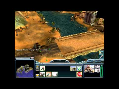 Let's Play Command & Conquer Generals Zero Hour Part 2 - Defending The Docks