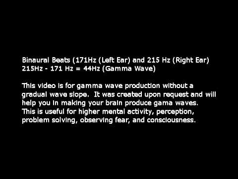 Pure Binaural Beats - Gamma brain waves - YouTube