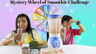 Video MYSTERY WHEEL OF SMOOTHIE CHALLENGE ♥ Funny Challenge Video  for kids MP3, 3GP, MP4, WEBM, AVI, FLV Maret 2019