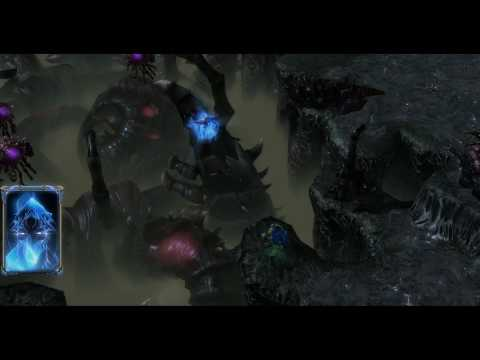 StarCraft 2: Zeratul talks to Tassadar about the Prophecy in 1080p