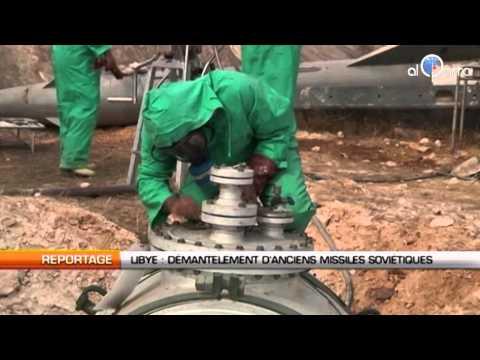Libye: Démantèlement d'anciens missiles soviétiques
