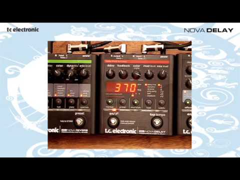 TC Electronic Nova Delay demo with Richard Morse