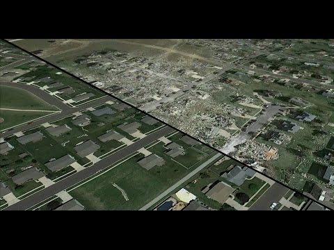 Washington IL Tornado Fly Over