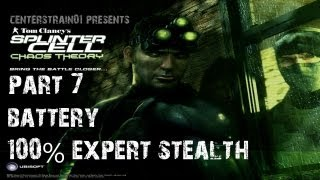 Splinter Cell: Chaos Theory - Stealth Walkthrough - Part 7 - Battery