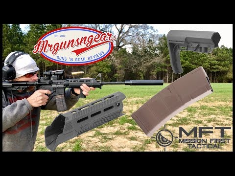 Mission First Tactical AR-15 Accessories Review: Stock, Handguard, Grip, & Magazines