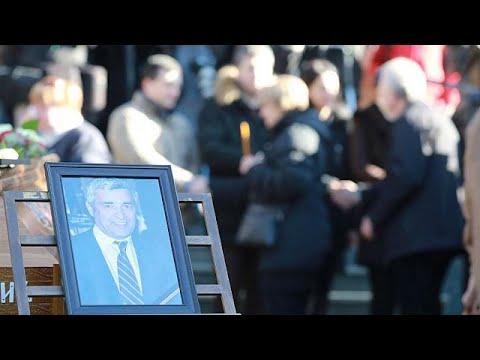 Σερβία: Χιλιάδες στην κηδεία του Όλιβερ Ιβάνοβιτς