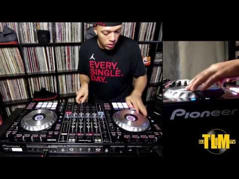 Pioneer DDJ-SZ Turntablism test