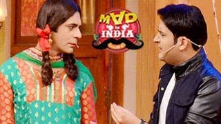 Kapil Sharma SPECIAL APPEARENCE on Sunil Grover's Mad In India 23rd February 2014 episode