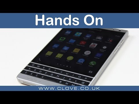 BlackBerry Passport Silver Edition Hands On Mp3