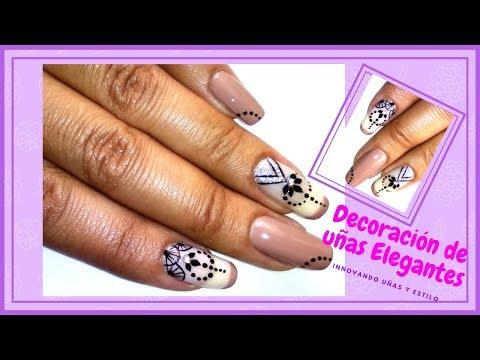 Decoracion de uñas - Decoración de uñas elegantes