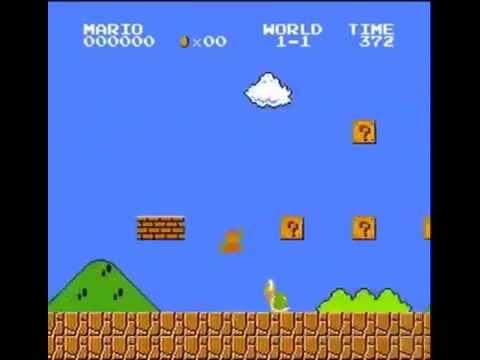 Super Mario Bros    500 Point Run (видео)