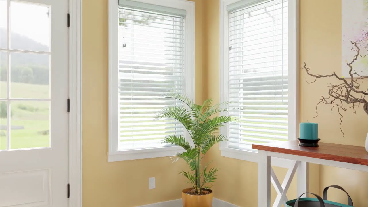Learn more about hard working Bali Horizontal Blinds.