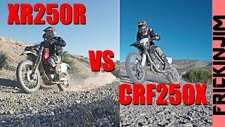 Download Lagu CRF250X vs XR250R RACE - Head to Head Showdown! Mp3