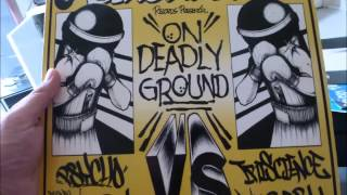 iriscience and DJ babu - on deadly ground (prod M-boogie) - 99'
