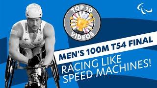 Video Men's 100m T54 | Final | London 2017 World Para Athletics Championships MP3, 3GP, MP4, WEBM, AVI, FLV September 2018