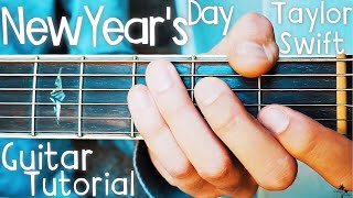 New Year's Day Taylor Swift Guitar Lesson for Beginners // New Year's Day Guitar // Lesson #382