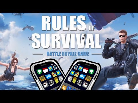 ОБЗОР УБИЙЦЫ PUBG - RULES OF SURVIVAL - iOS / ANDROID