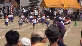 羽黒小運動会(その6)1年競走2年競走