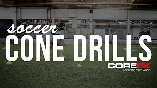 Soccer Drills | Training Cone Routines for Speed and Quickness