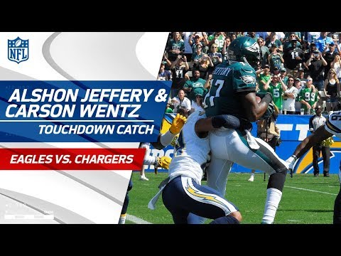 Video: Strip Sack on Philip Rivers Sets Up Carson Wentz's Laser TD Pass! | Eagles vs. Chargers | NFL Wk 4