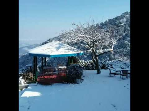 First Snowfall 2018 in Nainital -25th - Jan Published by The Swiss Village