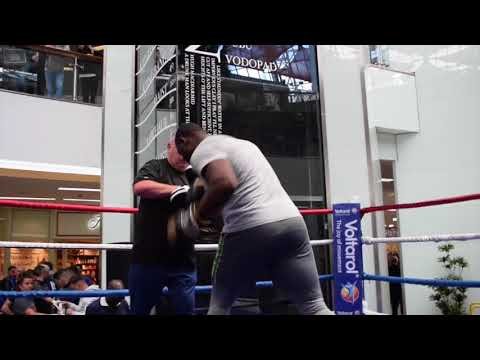 DID THIS MAN - MARTIN BAKOLE MAKE DANIEL DUBOIS QUIT IN SPARRING - AS TOM LITTLE CLAIMS? (видео)