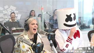 Video Marshmello & Anne-Marie Talk About Their New Song 'FRIENDS'  | On Air with Ryan Seacrest MP3, 3GP, MP4, WEBM, AVI, FLV Juli 2018