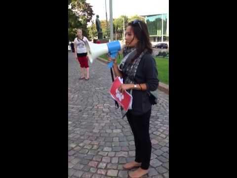 Mielenosoitus 8.9.2013 tekijä: Salla Honkapää