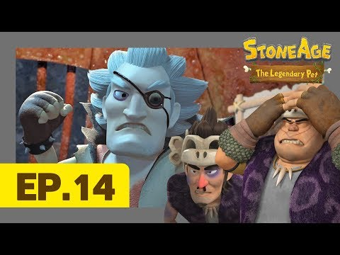 Chan and Bob, Best Friends Forever? l Episode 14 Stone Age The Legendary Pet l Dinosaur Animation