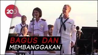 Video Keren! Lagu Akad Dinyanyikan Tentara RI, AS dan Australia MP3, 3GP, MP4, WEBM, AVI, FLV Juli 2018
