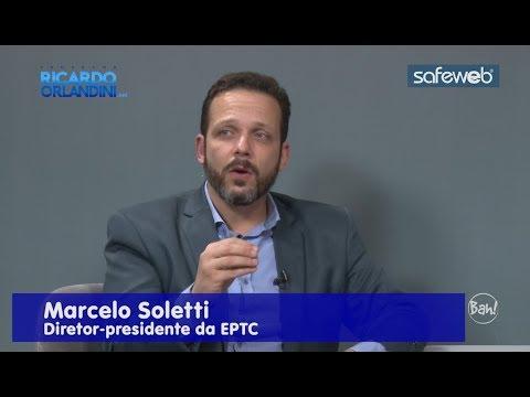 Ricardo Orlandini entrevista Marcelo Soletti,  presidente da EPTC-Empresa Pública de Transporte e Circulação de Porto Alegre.