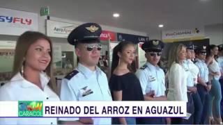 REINADO DEL ARROZ EN AGUAZUL