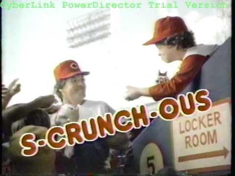 Nestle Crunch Commercial Pete Rose Nestle Crunch