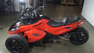 10. 2012 Can Am Spyder RSS