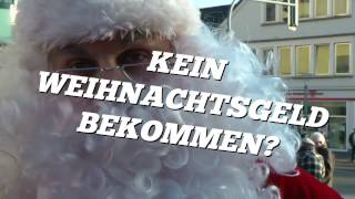 """Im Dezember gibt es ALLGEMEINVERBINDLICH und verpflichtend für alle Arbeitgeber im Hotel- und Gaststättengewerbe Schleswig- Holstein 40 % des im Oktober gezahlten Tarifentgeltes als Jahressonderzahlung.  Hast du kein """"Weihnachtsgeld"""" bekommen? Wir helfen dir! Deine Gewerkschaft Nahrung- Genuss- Gaststätten (NGG)"""