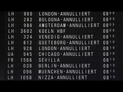 Streiks: Viele Flugausfälle in Deutschland und Frankrei ...