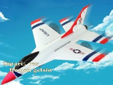 Uçuşa hazır uzaktan kumandalı model jet uçak
