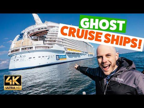 We Visit GIGANTIC EMPTY CRUISE SHIPS !!!